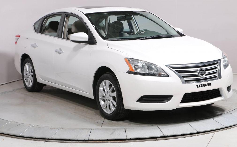 2013 Nissan Sentra SV AUTO A/C TOIT BLUETOOTH MAGS #0