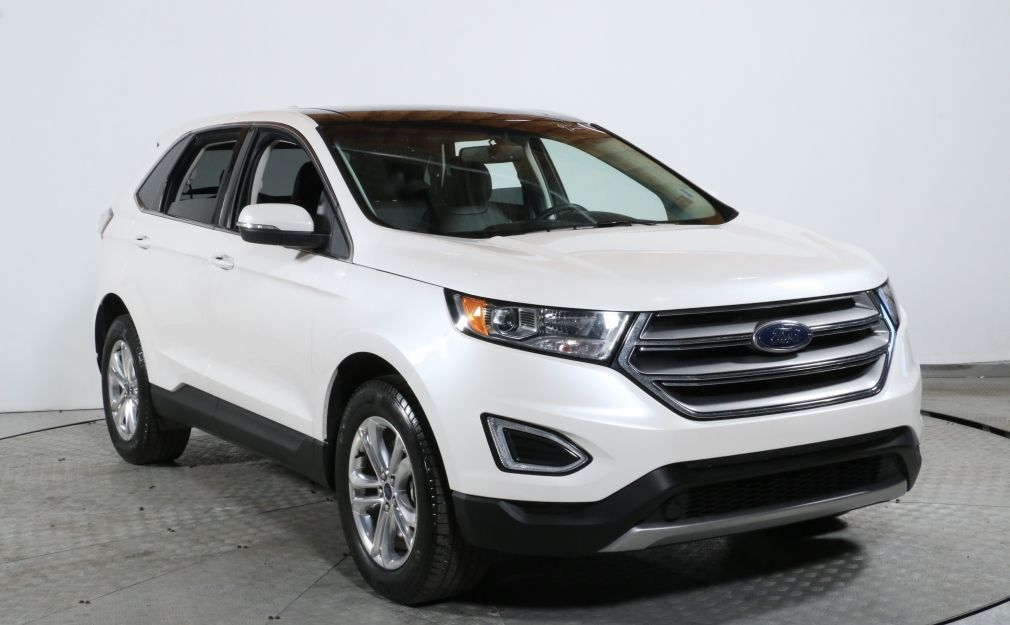 2017 Ford EDGE SEL AWD CUIR TOIT BLUETOOTH #0