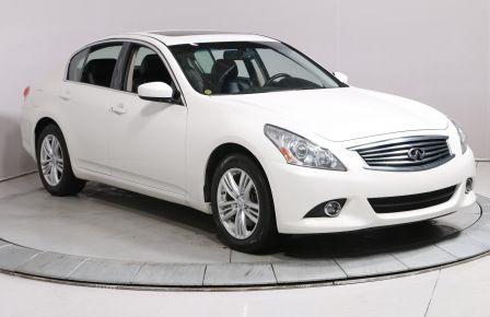 2012 Infiniti G37 G37x AUTO A/C TOIT CAM RECUL CUIR TOIT BLUETOOTH M #0