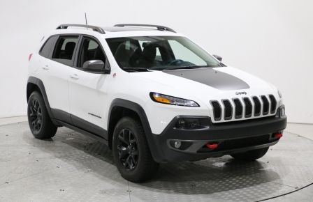 2017 Jeep Cherokee Trailhawk 4WD MAGS TOIT PANORAMIQUE BLUETOOTH SIÈG #0