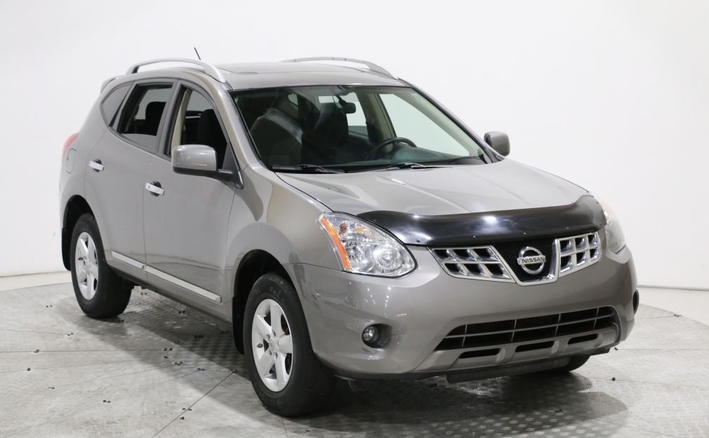 2013 Nissan Rogue S AWD MAGS TOIT OUVRANT BLUETOOTH USB/AUX/CD GR EL #0