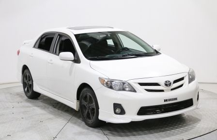 2011 Toyota Corolla S MANUELLE MAGS TOIT OUVRANT BLUETOOTH USB/AUX/CD #0