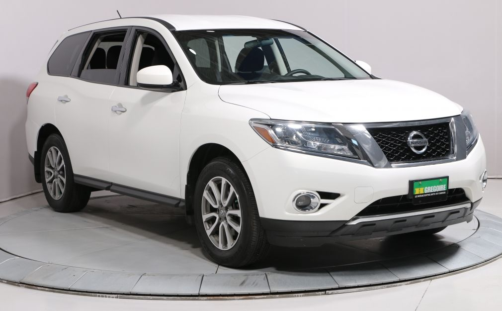 2014 Nissan Pathfinder S GROUP ELECT A/C MAG BLUETOOTH #0