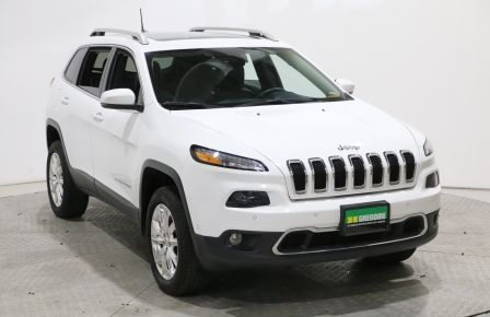 2016 Jeep Cherokee Limited 4WD MAGS A/C GR ELECT BLUETOOTH TOIT OUVRA #0