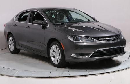 2016 Chrysler 200 Limited A/C MAGS BLUETOOTH CAMERA RECUL #0