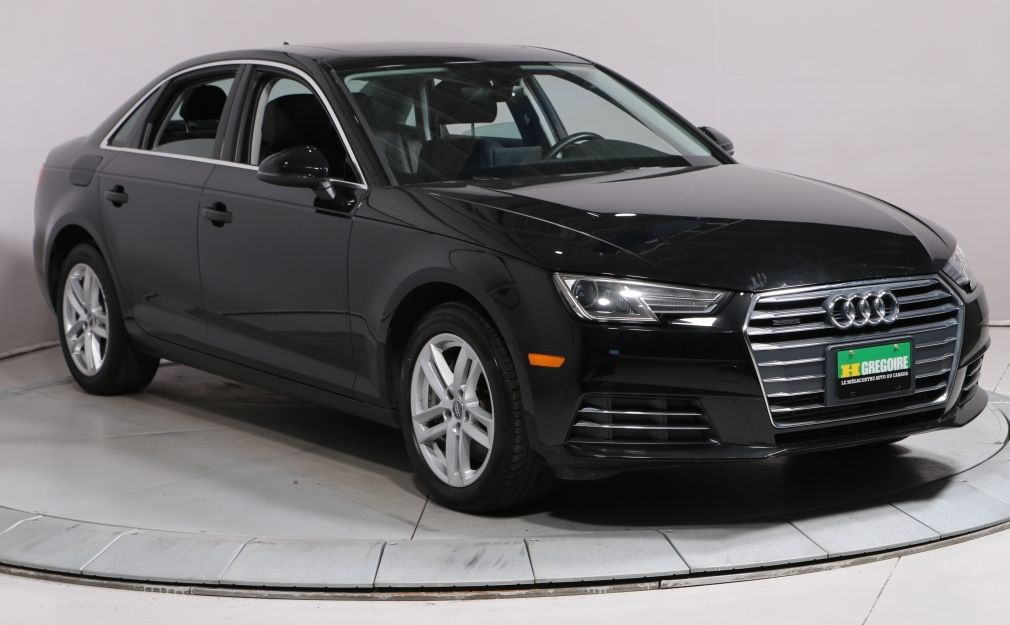 2017 Audi A4 KOMFORT A/C MAGS BLUETOOTH CUIR TOIT OUVRANT #0