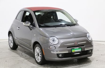 2012 Fiat 500 Lounge Convertible AUTO MAGS A/C GR ELECT BLUETOOT #0