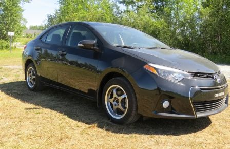 2016 Toyota Corolla S CUIR ET TISSU 7 ANS 120000  KL COMPLET INCLUS #0