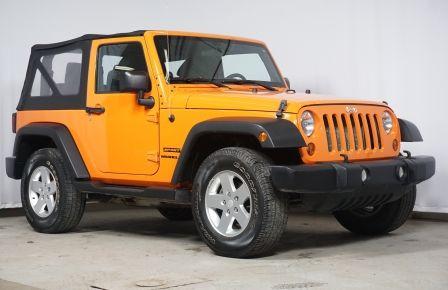 2012 Jeep Wrangler Sport 4X4 #0