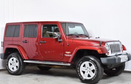 2012 Jeep Wrangler Sahara 4X4, 2 TOITS, CUIR #0