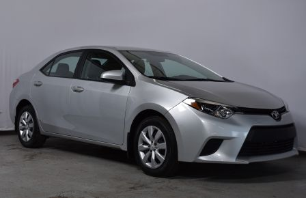 2014 Toyota Corolla LE #0