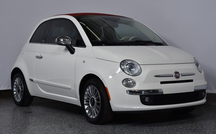 2012 Fiat 500 Lounge CONVERTIBLE #0