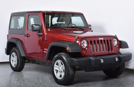2012 Jeep Wrangler Sport 2 TOITS #0