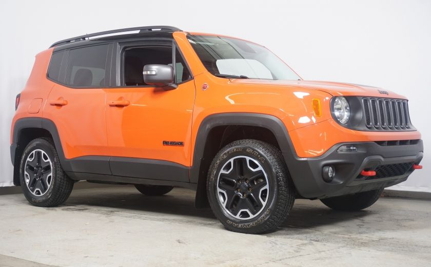 2015 Jeep Renegade Trailhawk 4x4, nav, auto #0