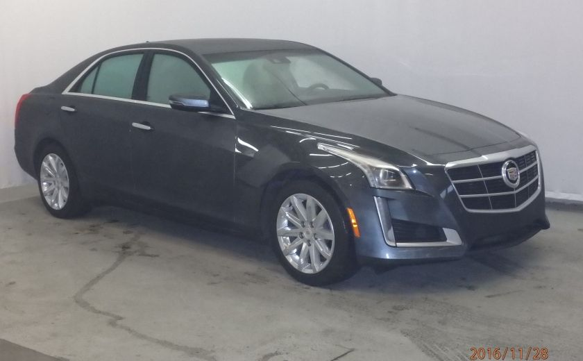 2014 Cadillac CTS Luxury RWD #0