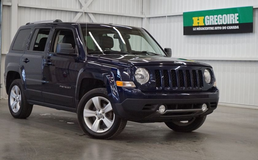 2013 Jeep Patriot Limited 4WD (cuir) #0