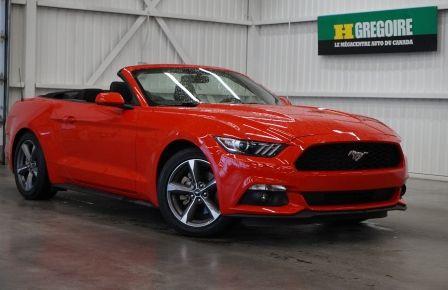 2015 Ford Mustang V6 3.7L Cabriolet (caméra) #0