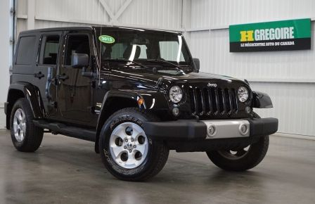 2015 Jeep Wrangler Sahara Unlimited 4WD (navi) #0