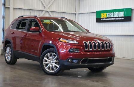 2016 Jeep Cherokee Limited 4WD (cuir-caméra-navi) #0
