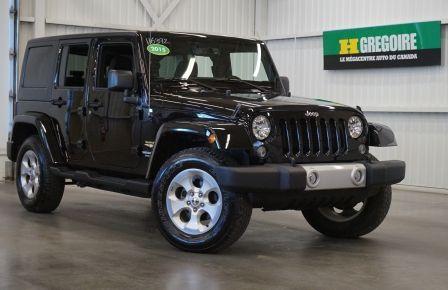 2015 Jeep Wrangler Unlimited Sahara 4WD #0