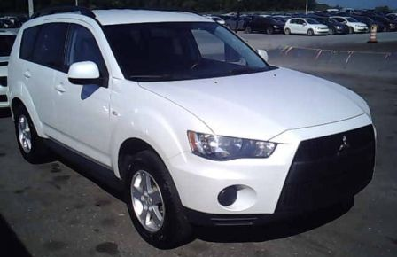 2011 Mitsubishi Outlander ES AWD Sieges-Chauf Bluetooth TV/DVD/USB #0