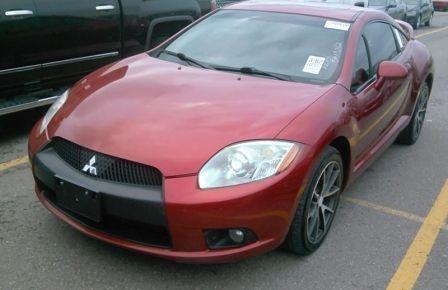 2009 Mitsubishi Eclipse GT-P V6 Cuir-Chauffant Toit Bluetooth Prem.Audio #0
