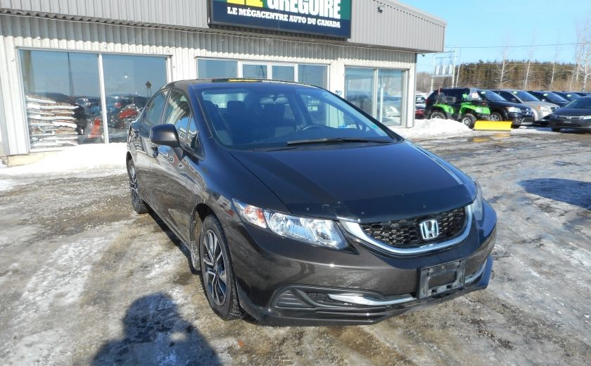 2013 Honda Civic EX   TOIT/CAMERA #0