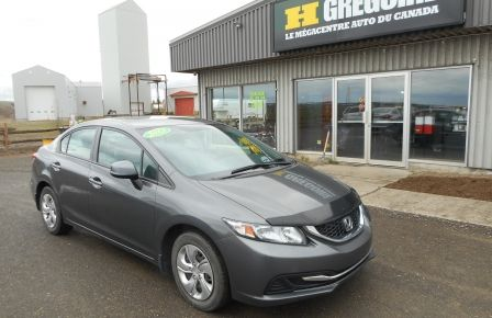 2013 Honda Civic LX #0