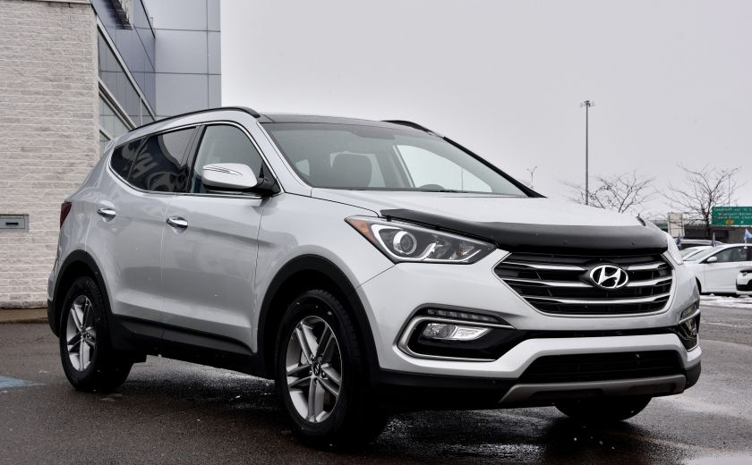 2017 Hyundai Santa Fe AWD Luxury AUTO A/C BLUETOOTH CAMERA NAV TOIT MAGS #0