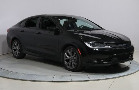 2016 Chrysler 200 S Cuir Panoramique Bluetooth Demarreur USB/CAM #0