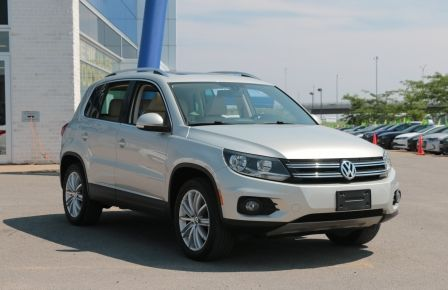 2012 Volkswagen Tiguan HIGHLINE AWD Cuir-Chauffant Pano Bluetooth #0