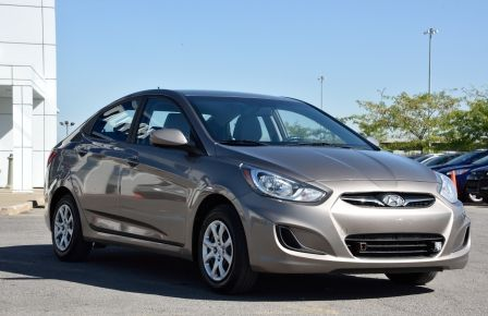 2013 Hyundai Accent L BAS KILOMETRAGE #0