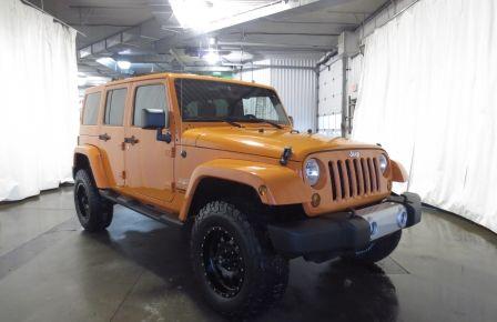 2012 Jeep Wrangler SAHARA 4WD AUTO 8 ROUES/PNEUS 2 TOITS #0