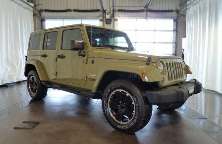 2013 Jeep Wrangler Unlimited SAHARA CUIR NAVI BLUETOOTH SIEGES CHAUFFANTS #0