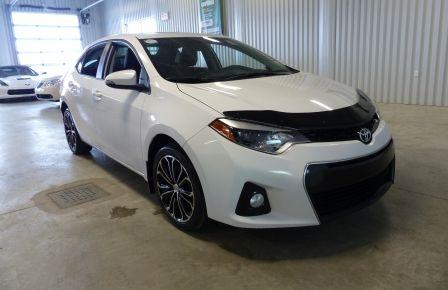 2014 Toyota Corolla S A/C Gr-Électrique (Mags-Caméra-Bluetooth) #0