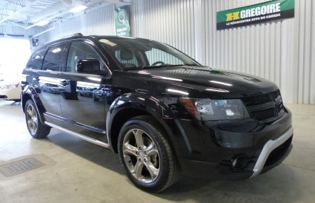 2016 Dodge Journey Crossroad AWD CUIR TOIT NAV CAM #0