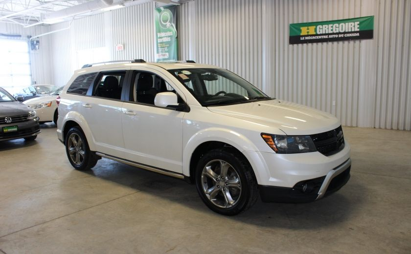 2016 Dodge Journey Crossroad AWD (Cuir-Toit-Nav-Mags-Bluetooth) #0