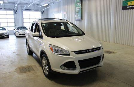 2014 Ford Escape Titanium AWD (CUIR-TOIT PANO-CAM) A/C Gr-Electriqu #0