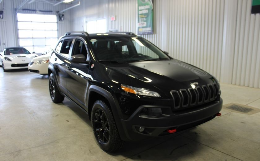 2016 Jeep Cherokee Trailhawk 4X4 V6 (Cuir-Toit-Mags) #0