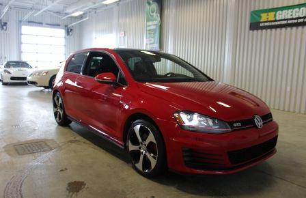 2015 Volkswagen GTI Autobahn DSG (Cuir-Toit-Mags-Bluetooth) #0