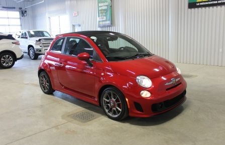 2013 Fiat 500 Abarth Turbo Convertible (Cuir-Mags-Bluetooth) #0