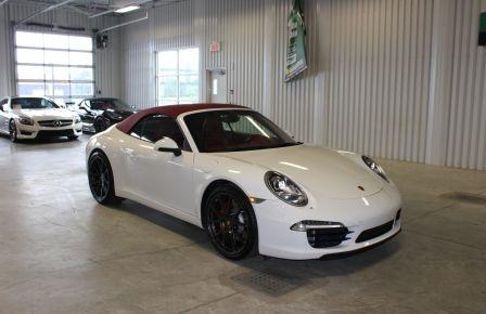 2012 Porsche 911 S CARRERA PDK Convertible (Cuir-Nav-Sport Chrono) #0
