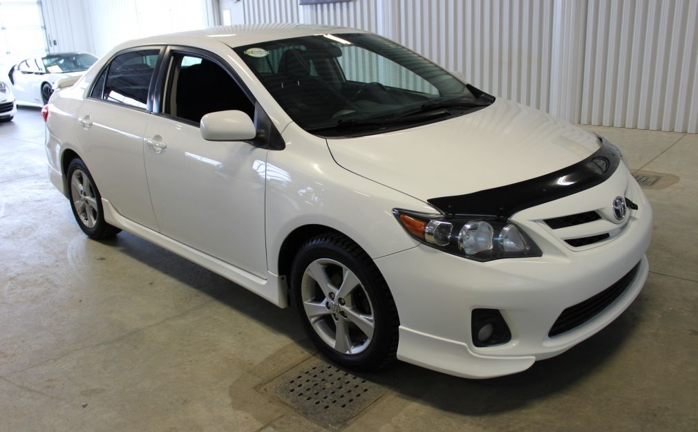 2012 Toyota Corolla S Berline A/C Gr-Électrique Mags Bluetooth #0
