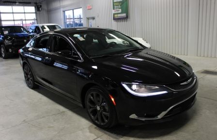 2016 Chrysler 200 C Cuir-Toit-Ouvrant-Navigation-Mags Bluetooth #0