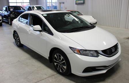 2013 Honda Civic A/C Gr-Electrique (Mag-Toit-Cam) #0