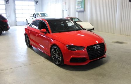 2016 Audi S3 AWD Cuir-Toit pano-Mag-Cam-Navigation #0