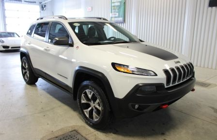 2017 Jeep Cherokee Trailhawk V6 4x4 Cuir Toit-Panoramique Navigation #0