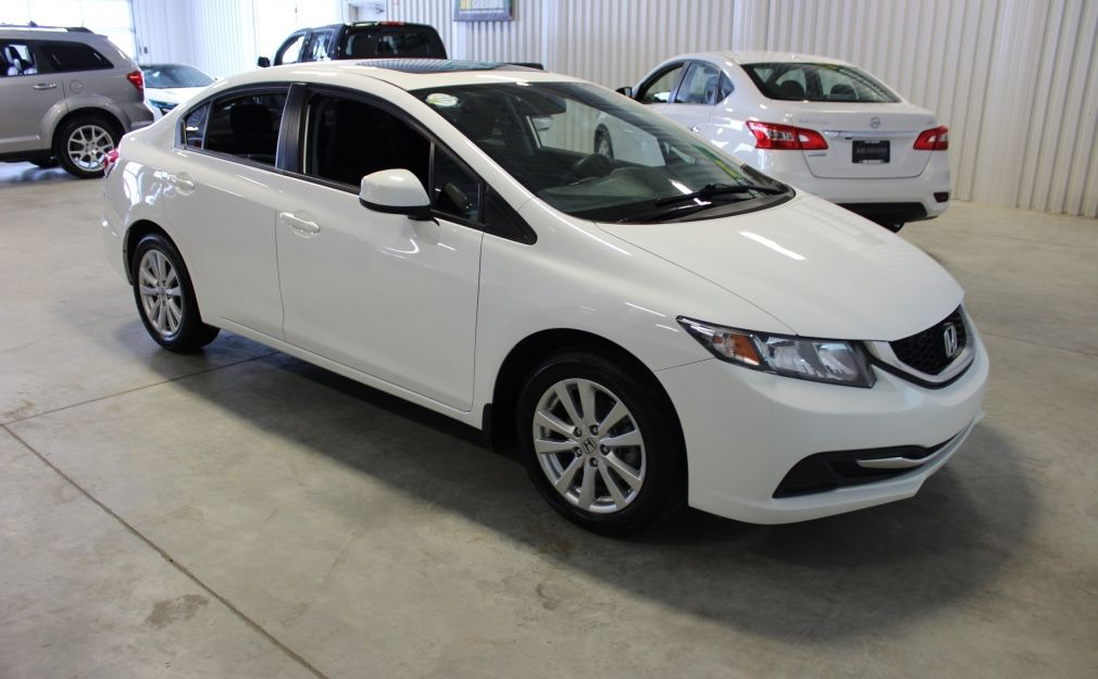 2013 Honda Civic EX A/C Caméra-Toit ouvrant-Bluetooth #0