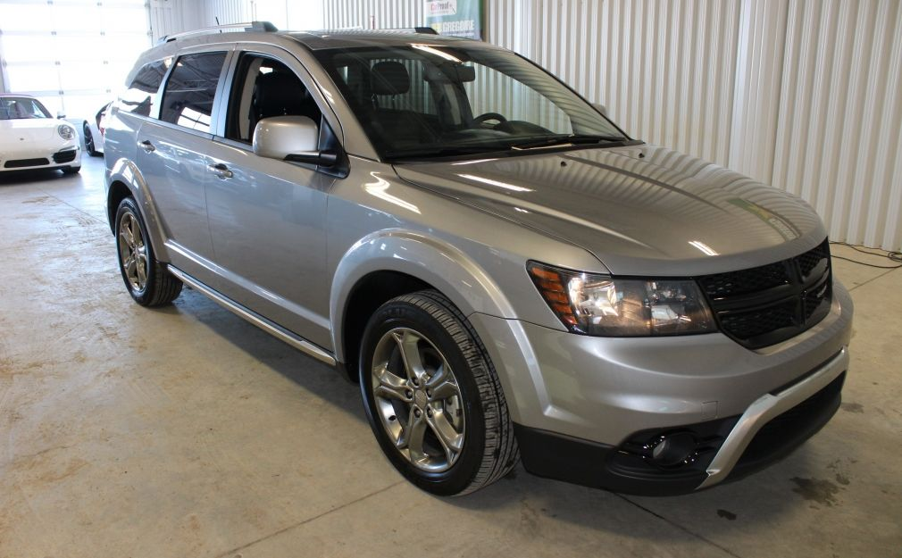 2017 Dodge Journey Crossroad Awd 7 Passagers Cuir Toit-Ouvrant Dvd #0