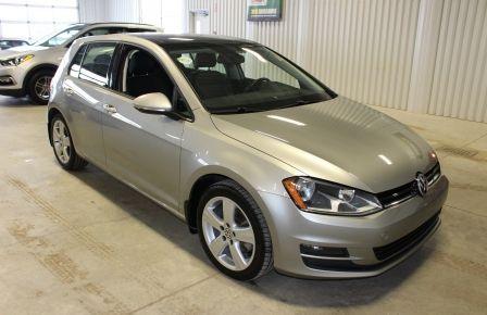 2015 Volkswagen Golf Comfortline  TDI Cuir Toit-Ouvrant Mags Bluetooth #0